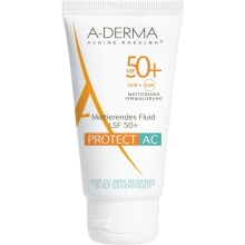 A-DERMA PROTECT AC MATTIERENDES FLUID SPF 50+ , 40 ML